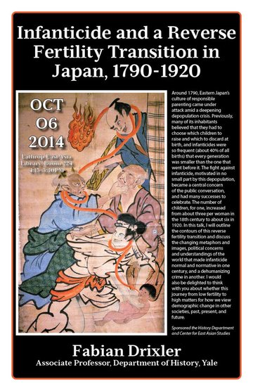 Infanticide And A Reverse Fertility Transition In Japan, 1790-1920